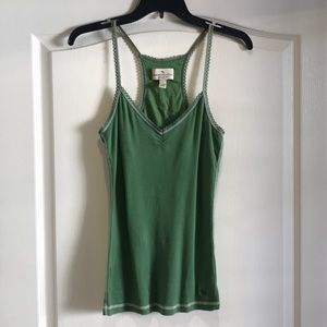 Abercrombie & Fitch GUC Racerback Tank Green